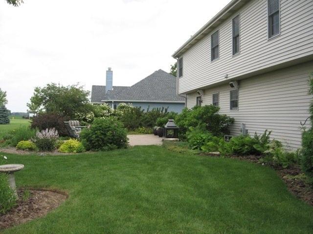 Aztech Landscaping backyard